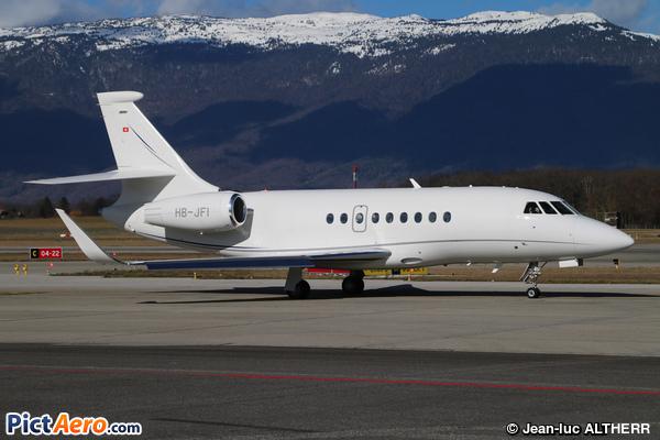 Dassault Falcon 2000LX (Jet Aviation Business Jets AG)