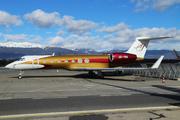 Gulfstream G550 (A6-YMA)