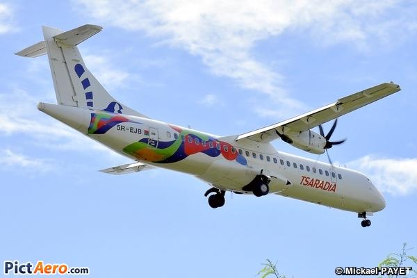ATR72-600 (ATR72-212A) (Tsaradia)