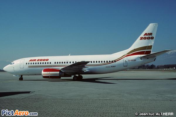Boeing 737-3Q8 (Air 2000)