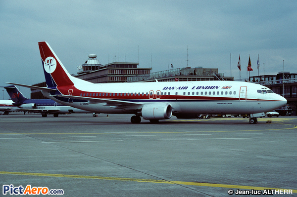 Boeing 737-4Q8 (Dan-Air London)
