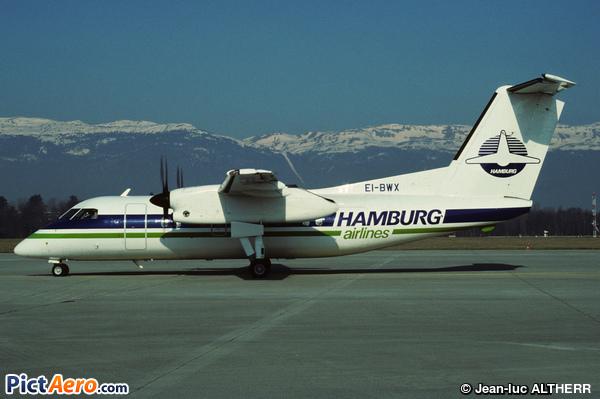 De Havilland Canada DHC-8-102 (Hamburg Airlines)
