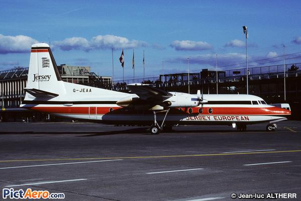 Fokker F-27-500 Friendship (Jersey European Airways)