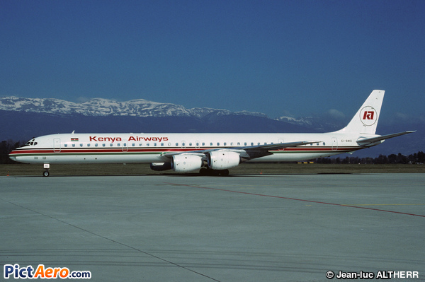McDonnell Douglas DC-8-71 (Kenya Airways)