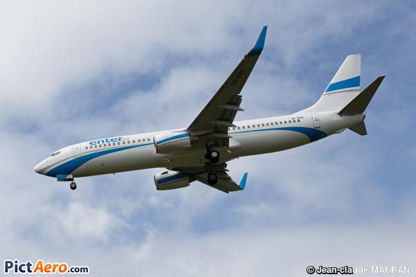 Boeing 737-8BK/WL (Enter Air)
