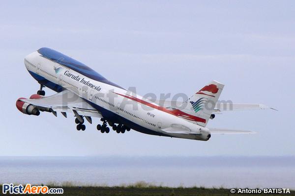 Boeing 747-306M (Garuda Indonesia (Orient Thai Airlines))