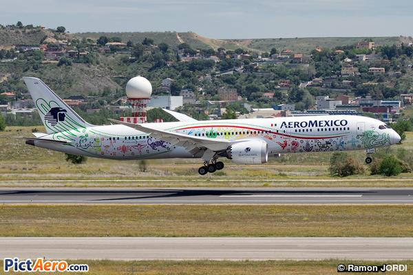 Boeing 787-9 Dreamliner (Aeroméxico)