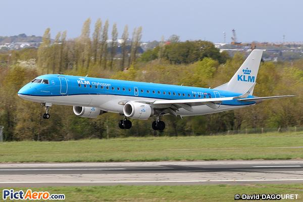 Embraer ERJ-190 STD (KLM Cityhopper)