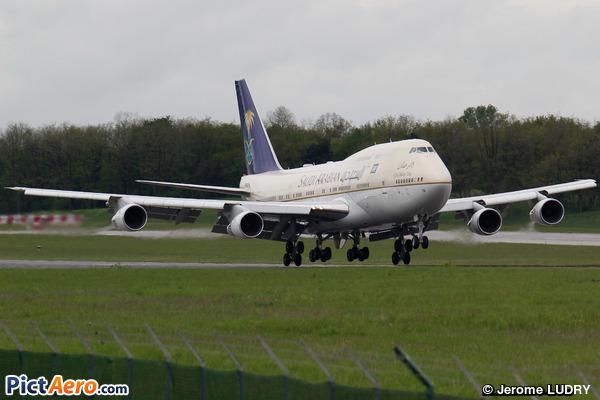 Boeing 747-3G1 (Saudi Arabia - Royal Flight)