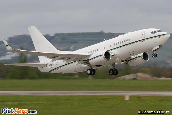 Boeing 737-7BQ/BBJ (Dallah al Baraka Group)