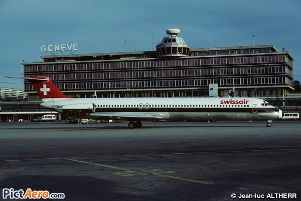 McDonnell Douglas MD-81 (DC-9-81) (Swissair)