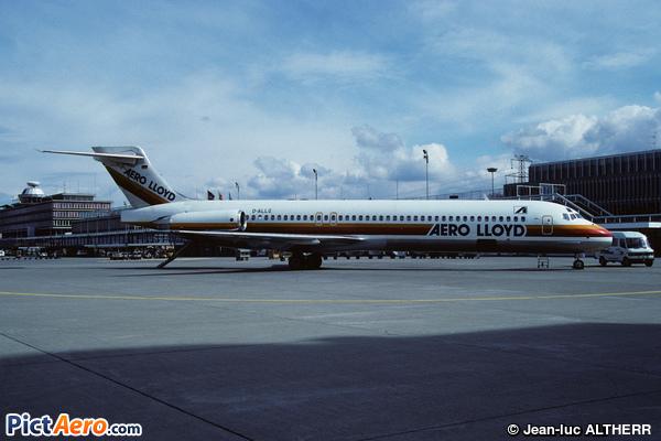 McDonnell Douglas MD-87 (Aero Lloyd)