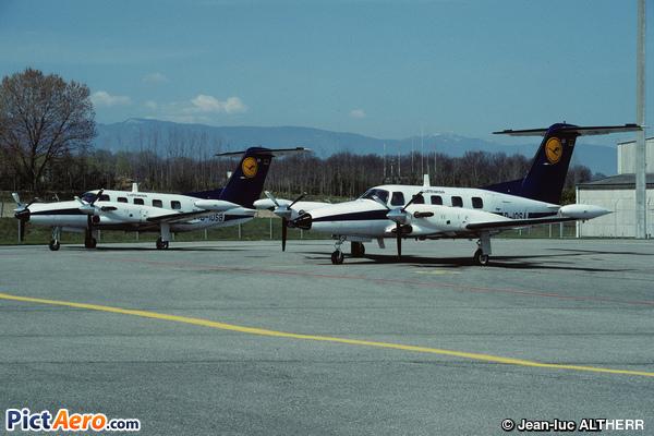 Piper PA-42-720 Cheyenne IIIA (Lufthansa)