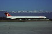 McDonnell Douglas MD-81 (DC-9-81) (HB-INU)