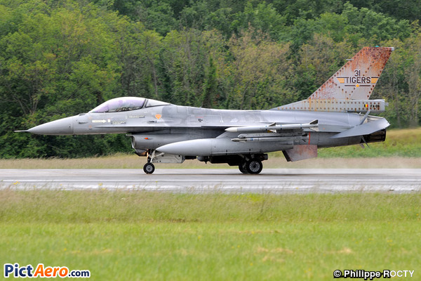 General Dynamics F-16AM Fighting Falcon (Belgium - Air Force)