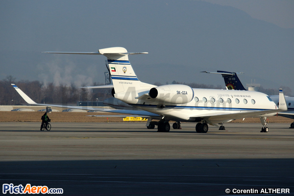 Gulfstream G650ER (Kuwait - Government)