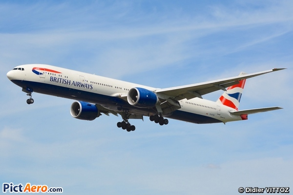 Boeing 777-36N/ER (British Airways)