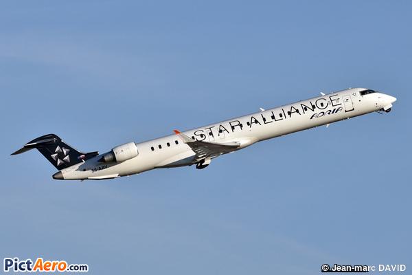 CRJ-900LR (CL-600-2D24) (Adria Airways)