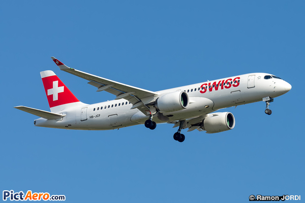 Bombardier CSeries CS300 (BD-500-1A11) (Swiss Global Air Lines)