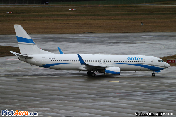 Boeing 737-8AS/WL (Enter Air)
