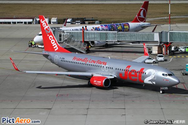 Boeing 737-8MG/WL (Jet2.com)