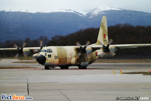 Lockheed C-130H Hercules (L-382) (Morocco - Air Force)