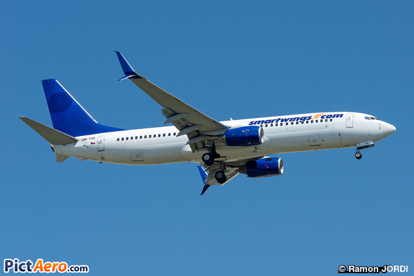 Boeing 737-8FH/WL (SmartWings)
