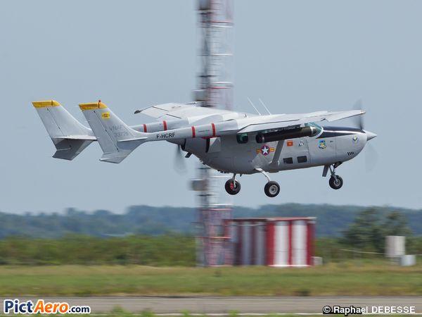 Reims FTB 337G Skymaster - F-HCRF (FRAPPOT Raymond) by