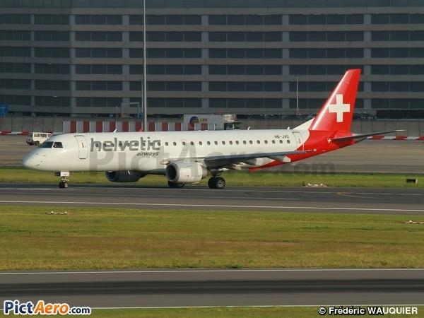 Embraer ERJ-190AR (ERJ-190-100AR) (Helvetic Airways)
