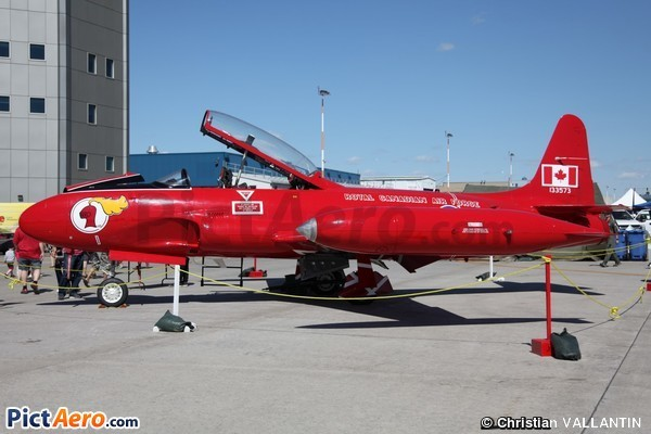 Canadair CT-133 Silver Star (Jet Aircraft Museum)
