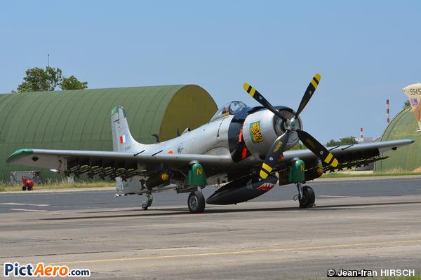Douglas AD-4N Skyraider (Association française pour la recherche et le maintien en vol d'avions historiques)