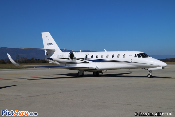Cessna 680 Citation Sovereign (Helidosa Aviation Group)