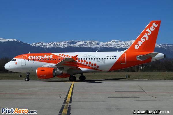 Airbus A319-111 (easyJet)