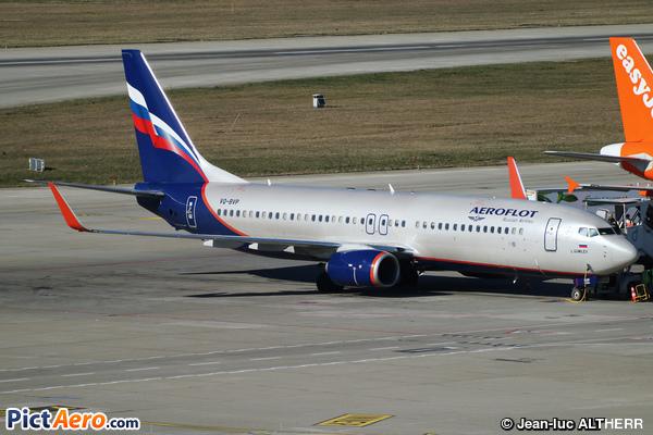 Boeing 737-8LJ/WL (Aeroflot)