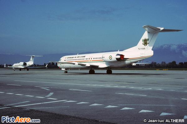 Fokker F28-0100 (Ivory Coast - Air Force)
