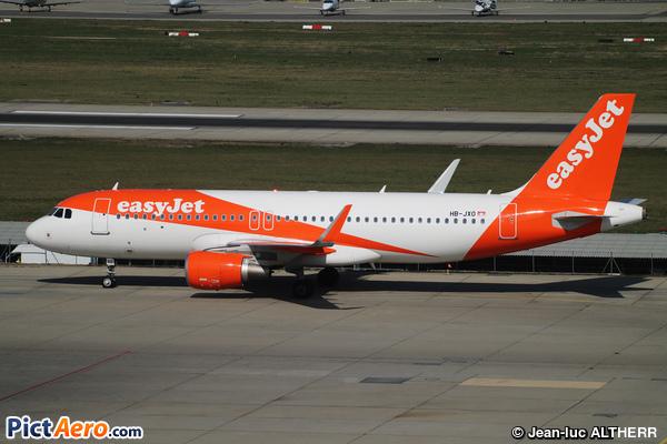 Airbus A320-214/SL (easyJet Switzerland)