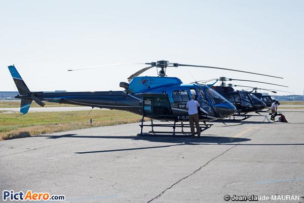 Aérospatiale AS-350 BA Ecureuil (Hélicoptères de France (HDF))