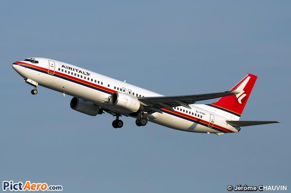 Boeing 737-86N (AirItaly)