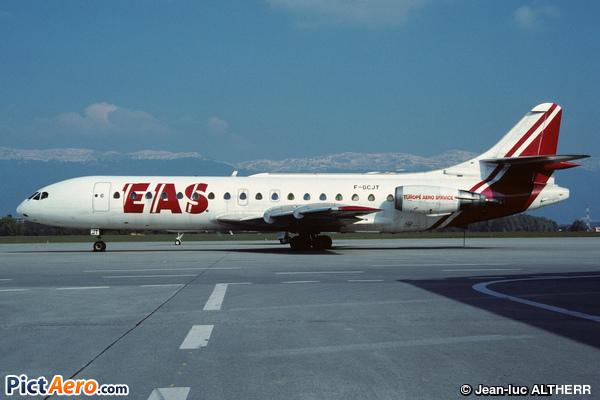Aérospatiale SE-210 Caravelle 10-B3 (Europe Aero Service (EAS))