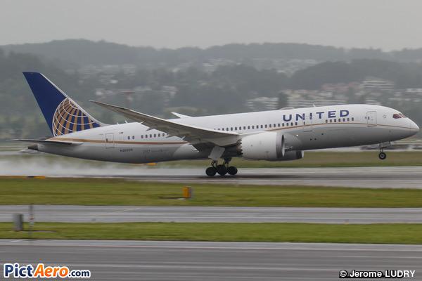 Boeing 787-8 Dreamliner (United Airlines)