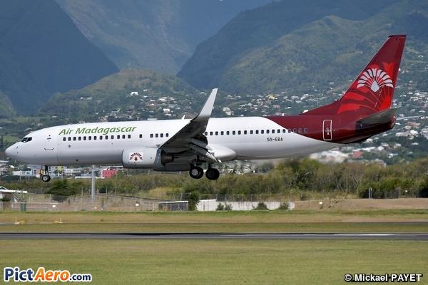 Boeing 737-86N/WL (Air Madagascar)