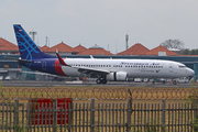 Boeing 737-86N/WL (PK-CRA)