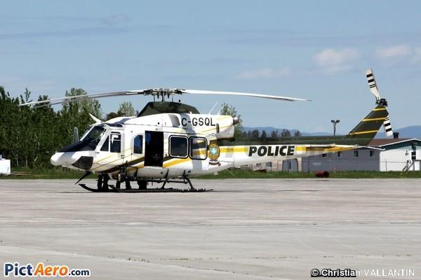 Bell 412EP Griffon (Canada - Service aérien du Gouvernement du Québec)
