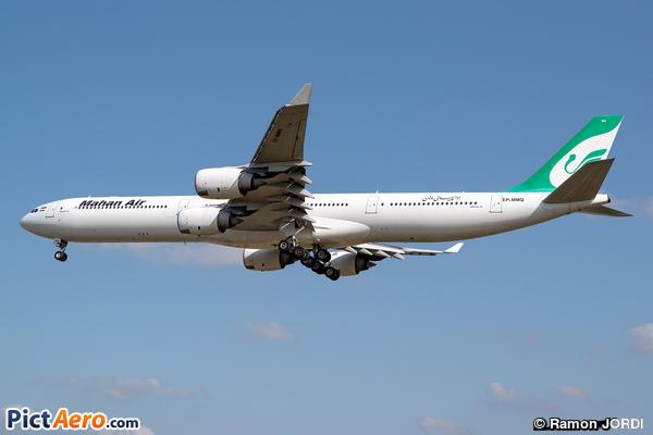 Airbus A340-642 (Mahan Air)