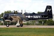 North American T-28B Trojan (N555PF)