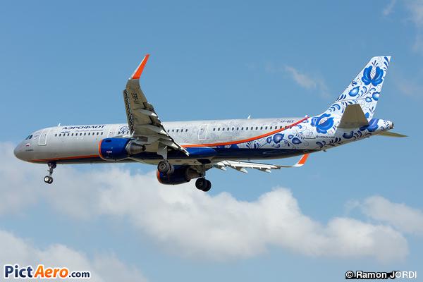 Airbus A321-211 (Aeroflot)