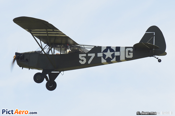Piper L-4H Grasshopper  (J-3C-65D) (HEBERT Stevens Jérôme)