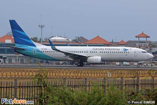 Boeing 737-8U3/WL (Garuda Indonesia)
