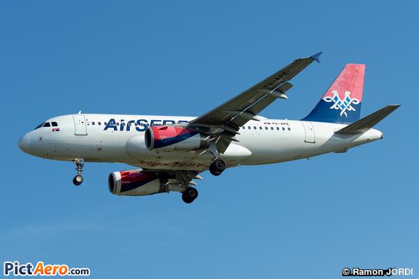 Airbus A319-132 (Air Serbia)
