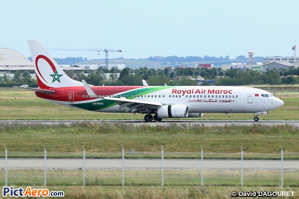 Boeing 737-8B6/WL (Royal Air Maroc (RAM))